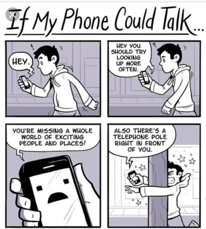 If My Phone Could Talk….